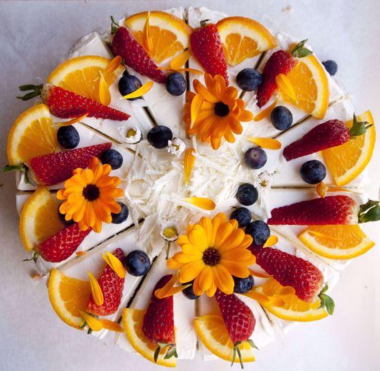 Afbeelding van Kwarkbosvruchten taart