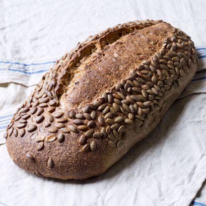 Afbeeldingen van Spelt pompoenpitten brood