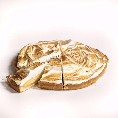 Afbeeldingen van Citroenmeringue taart - 1 punt