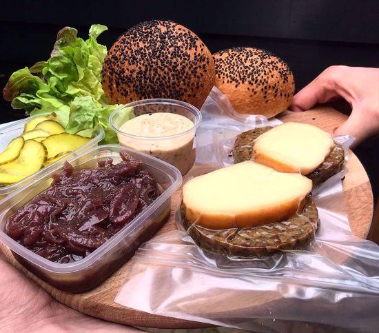 Afbeelding van Hamburgerpakket 2 stuks  - let op, alleen af te halen bij het restaurant -