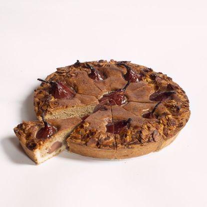 Afbeeldingen van Stoofperentaart - 20 cm of halve taart