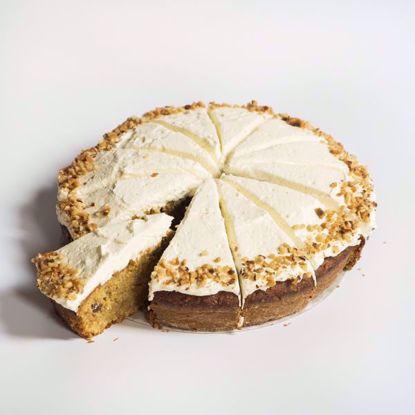 Afbeeldingen van Carrotcake - 20 cm of half