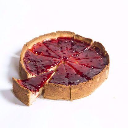 Afbeeldingen van Cheesecake -20 cm of half