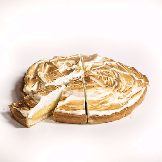 Afbeelding van Citroenmeringue taart - 20 cm of halve taart